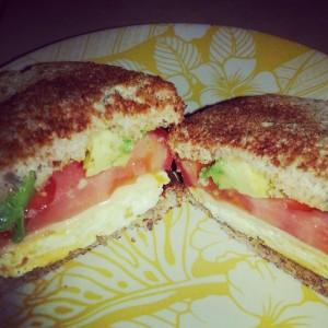 Sandwich desayuno